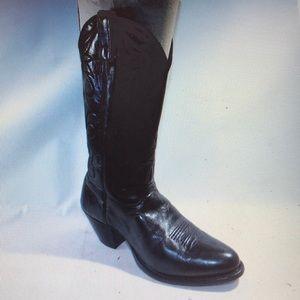 J. Chrisholm size 8.5 Black Boots for women